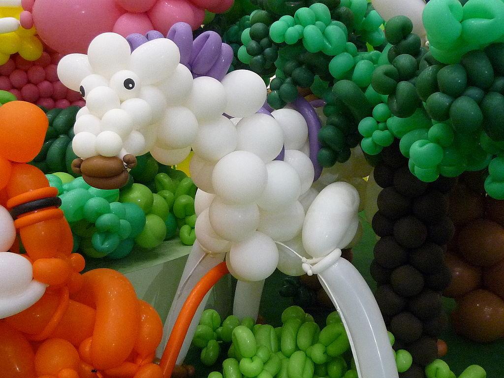 怎么用汽球做小动物
