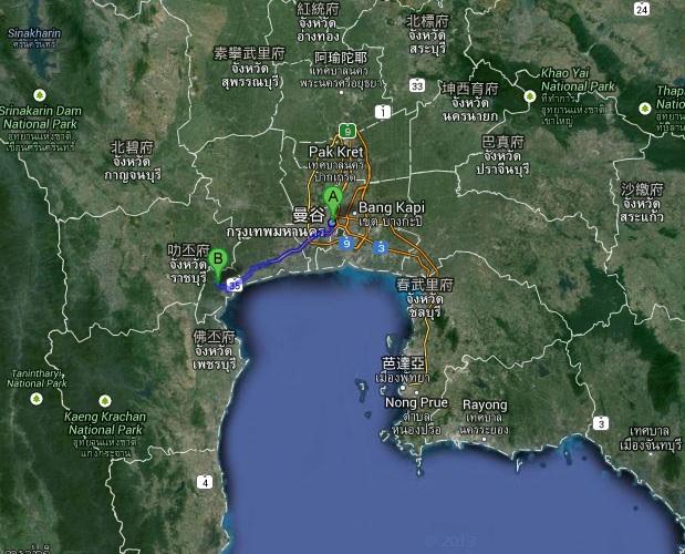 bangkok amphawa